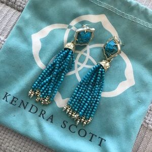 Kendra Scott Misha Turquoise Earrings
